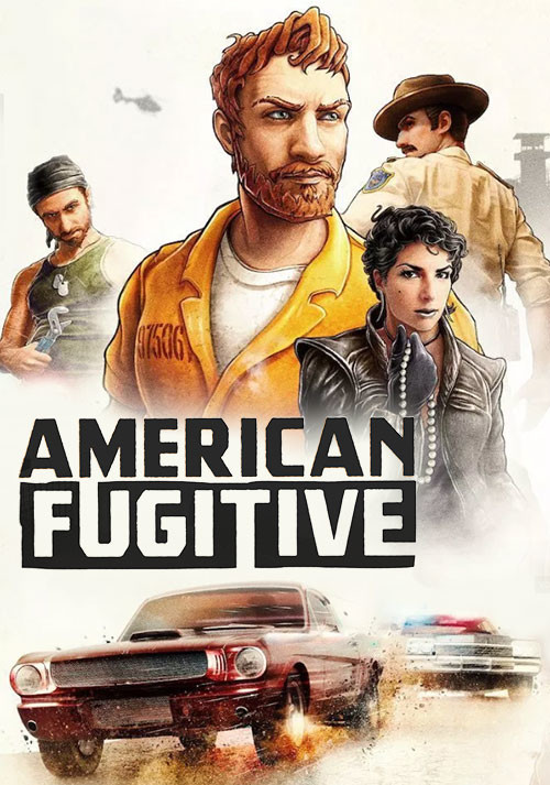 American Fugitive - Cover / Packshot