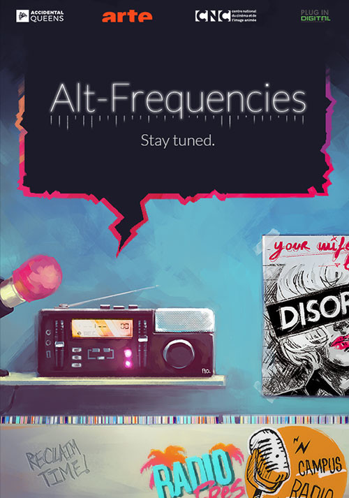 Alt-Frequencies - Cover / Packshot