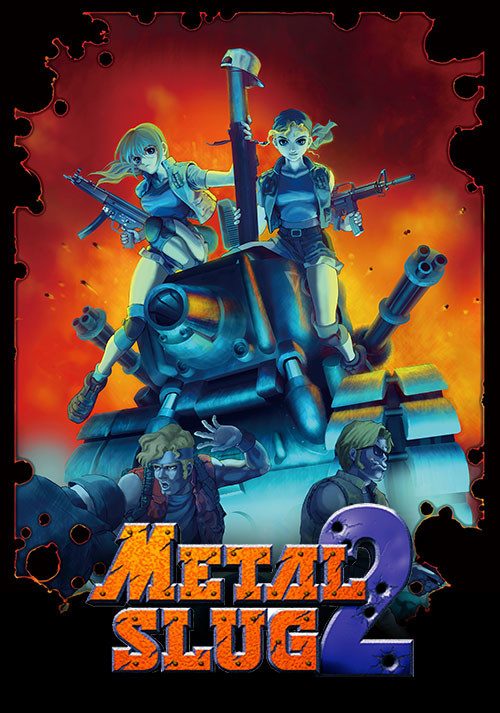 METAL SLUG 2 - Cover / Packshot