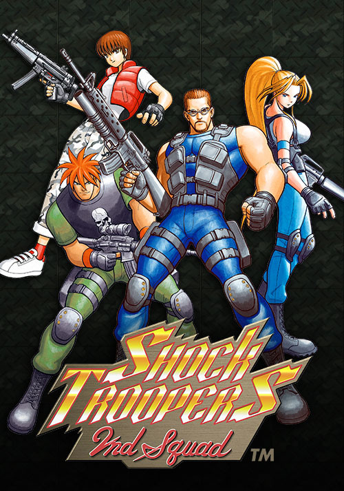 SHOCK TROOPERS 2nd Squad - Cover / Packshot