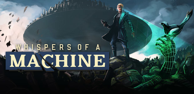 Whispers of a Machine - Cover / Packshot