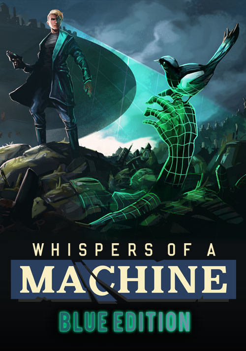 Whispers of a Machine Blue Edition - Cover
