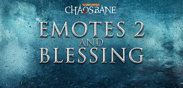 Warhammer: Chaosbane - Emotes & Blessing - Cover / Packshot