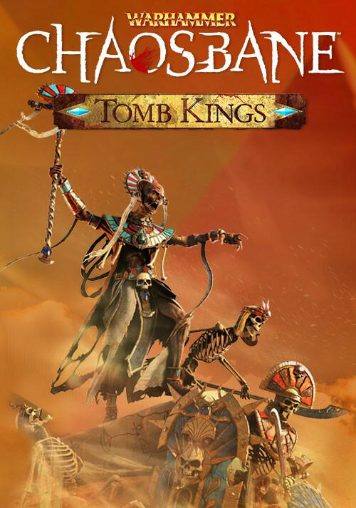 Warhammer: Chaosbane - Tomb Kings - Cover / Packshot