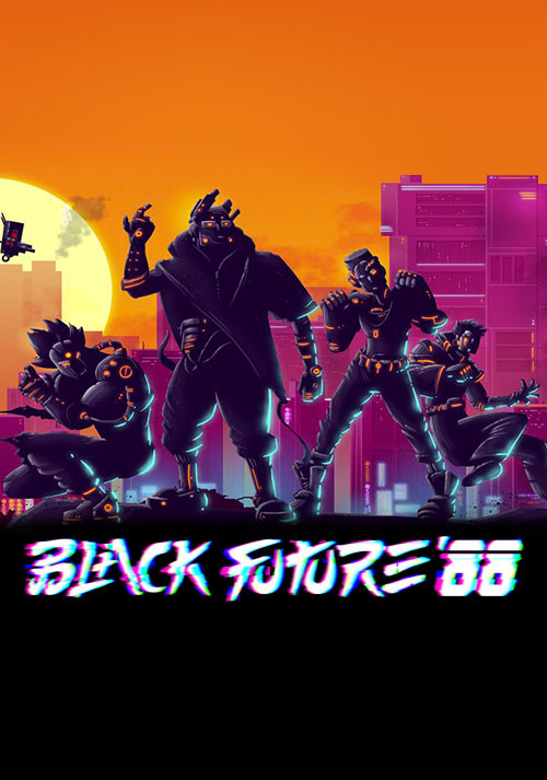 Black Future '88 - Cover