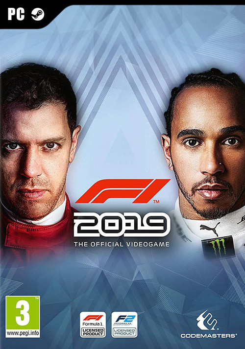 F1 2019 Anniversary Edition - Cover / Packshot