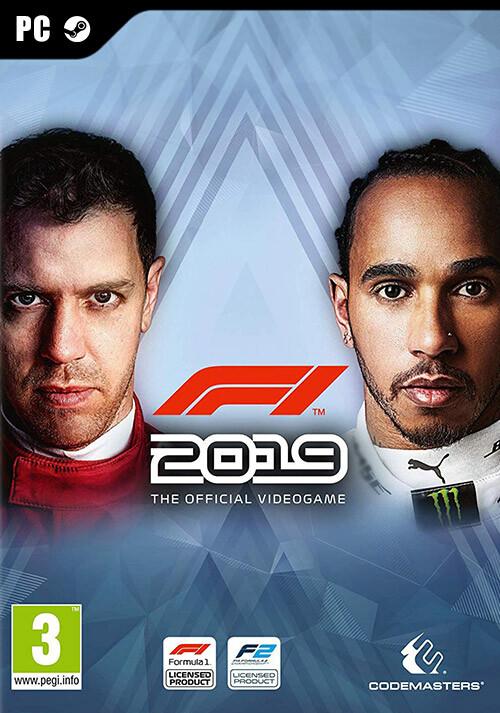 F1 2019 Anniversary Edition - Cover