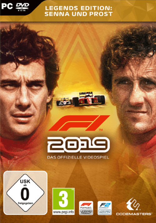 F1 2019 Legends Edition - Cover / Packshot