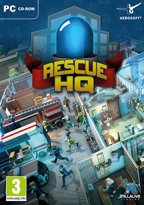 Rescue HQ - The Tycoon - Cover