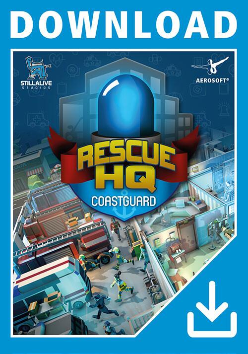 Rescue HQ - Coastguard DLC - Cover / Packshot