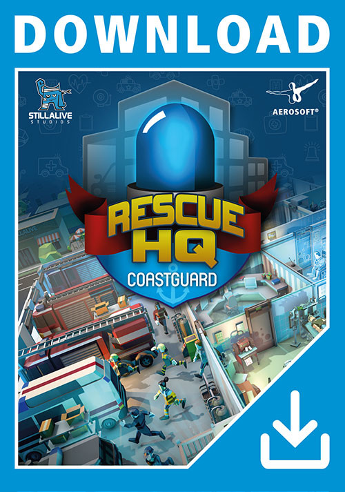 Rescue HQ - Coastguard DLC - Cover / Packshot