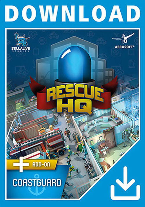 Rescue HQ - Coastguard Bundle - Cover / Packshot