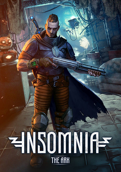 INSOMNIA: The Ark - Cover / Packshot