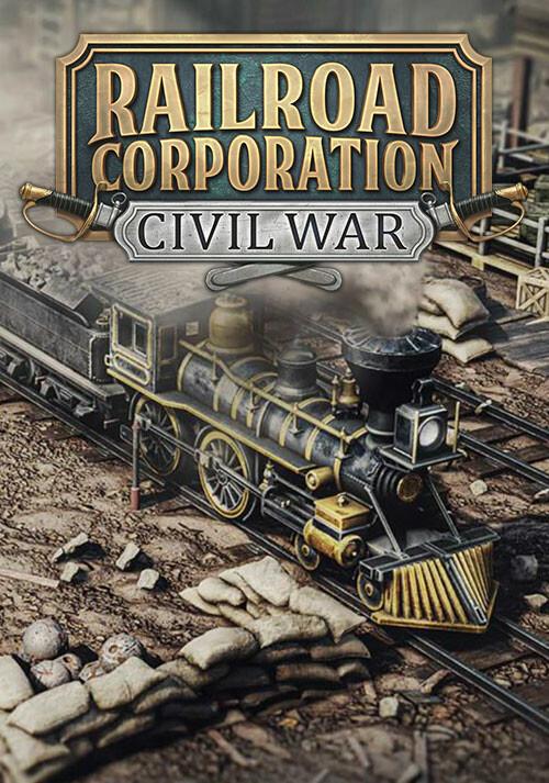 Railroad Corporation - Civil War - Cover / Packshot