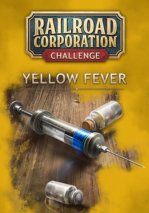 Railroad Corporation - Yellow Fever DLC - Cover / Packshot