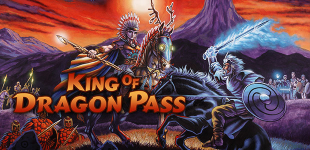 King of Dragon Pass - Cover / Packshot
