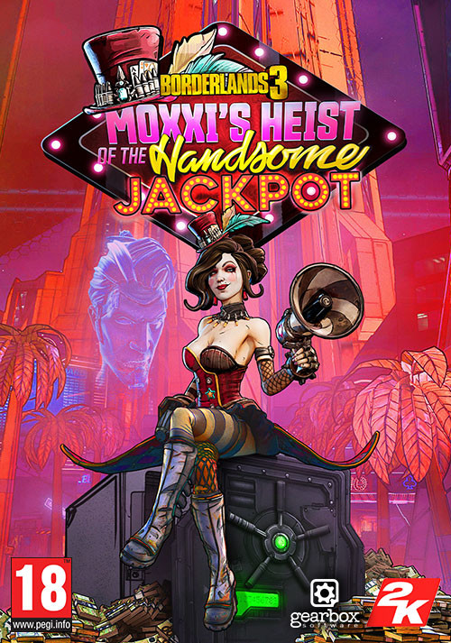 Borderlands 3: Moxxi's Heist of the Handsome Jackpot - Cover / Packshot