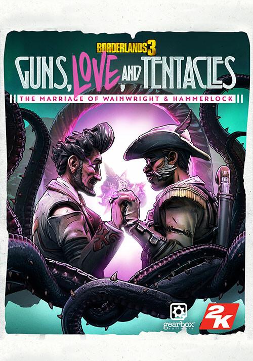 Borderlands 3: Guns, Love, and Tentacles (Epic) - Cover / Packshot