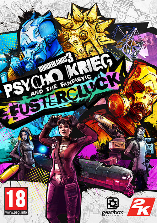 Borderlands 3: Psycho Krieg and the Fantastic FusterCluck - Cover / Packshot