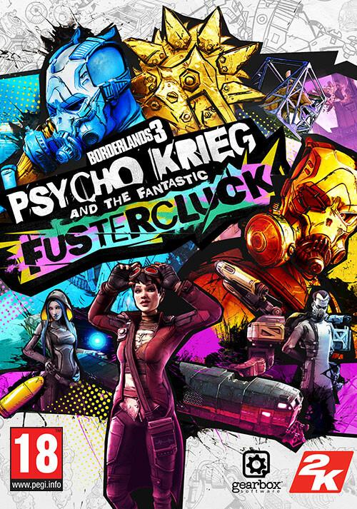 Borderlands 3: Psycho Krieg and the Fantastic FusterCluck - Cover / Packshot