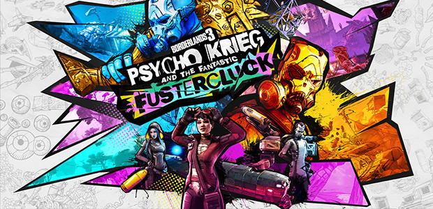 Borderlands 3: Psycho Krieg and the Fantastic FusterCluck (Epic)