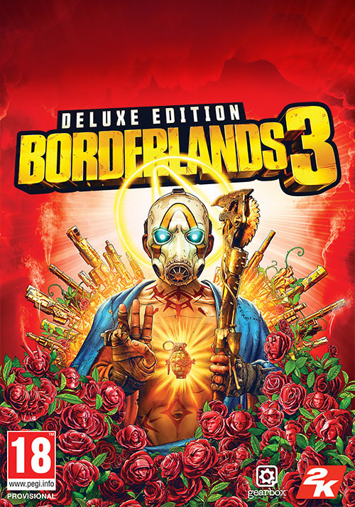 Borderlands 3 Deluxe Edition (Epic) - Cover / Packshot