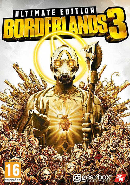 Borderlands 3 Ultimate Edition (Epic) - Cover / Packshot