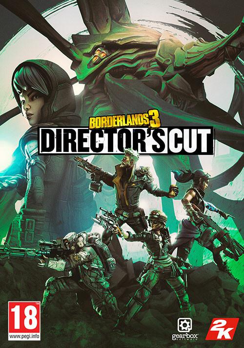 Borderlands 3: Director's Cut - Cover / Packshot