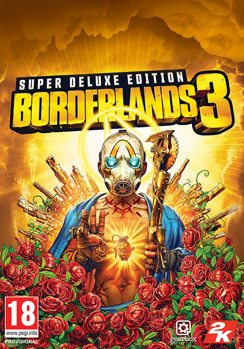 Borderlands 3 Super Deluxe Edition - Cover / Packshot
