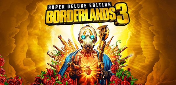 Borderlands 3 Super Deluxe Edition (Epic) - Cover / Packshot