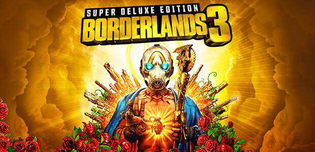 Borderlands 3 Super Deluxe Edition (Epic) - Cover / Packshot