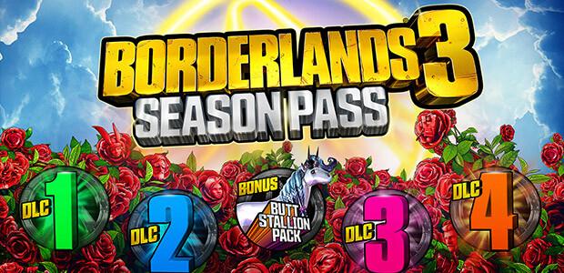 Borderlands 3: Season Pass (Epic) - Cover / Packshot