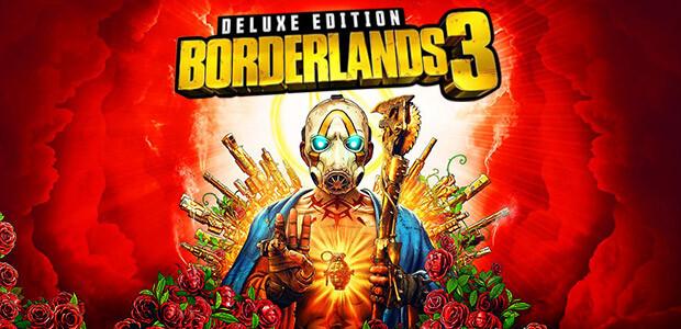Borderlands 3: Digital Deluxe Edition - Cover / Packshot