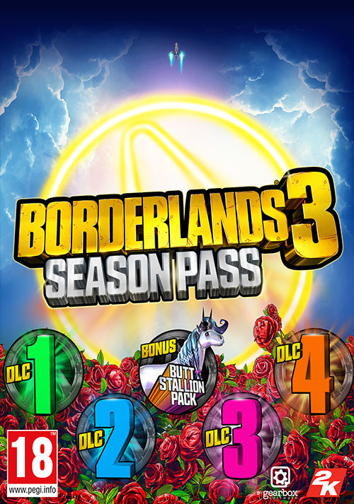 Borderlands 3: Season Pass - Cover / Packshot