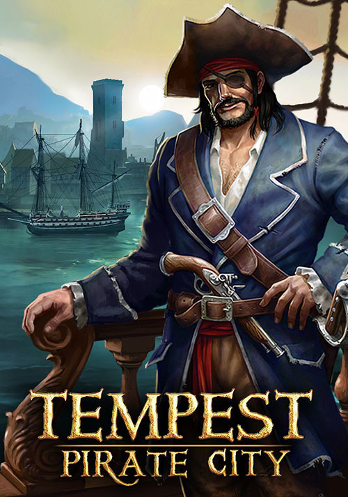 Tempest - Pirate City - Cover