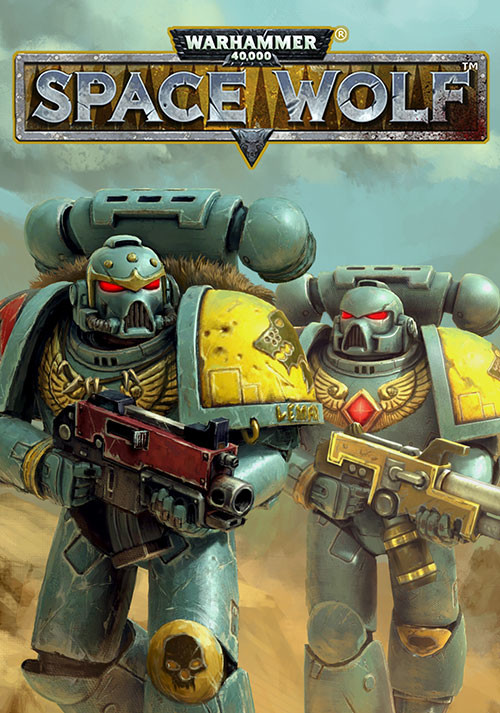 Warhammer 40,000: Space Wolf - Cover / Packshot