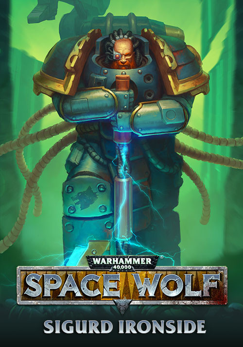 Warhammer 40,000: Space Wolf - Sigurd Ironside - Cover / Packshot