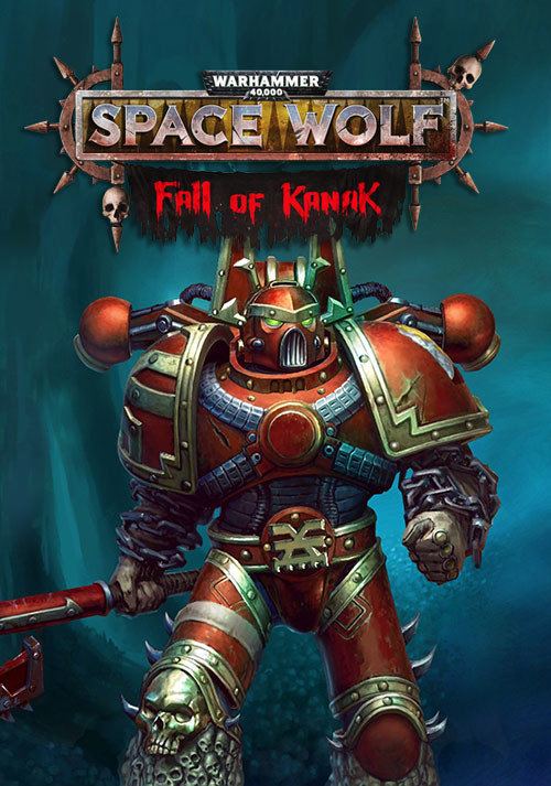 Warhammer 40,000: Space Wolf - Fall of Kanak - Cover / Packshot