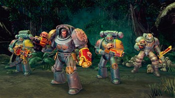 Screenshot3 - Warhammer 40,000: Space Wolf - Fall of Kanak