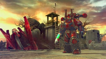 Screenshot5 - Warhammer 40,000: Space Wolf - Fall of Kanak