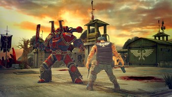 Screenshot6 - Warhammer 40,000: Space Wolf - Fall of Kanak