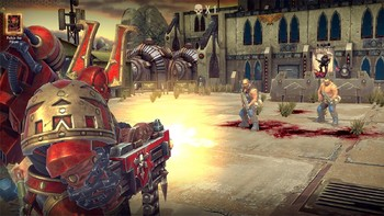 Screenshot7 - Warhammer 40,000: Space Wolf - Fall of Kanak