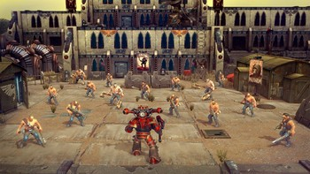 Screenshot1 - Warhammer 40,000: Space Wolf - Fall of Kanak