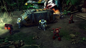 Screenshot6 - Warhammer 40,000: Space Wolf - Saga of the Great Awakening