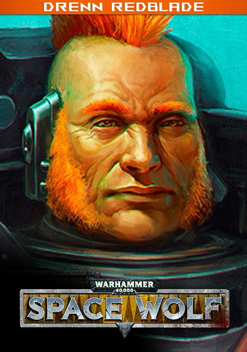 Warhammer 40,000: Space Wolf - Drenn Redblade - Cover / Packshot