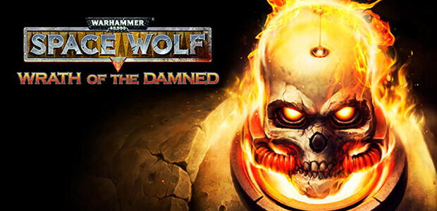 Warhammer 40,000: Space Wolf - Wrath of the Damned - Cover / Packshot