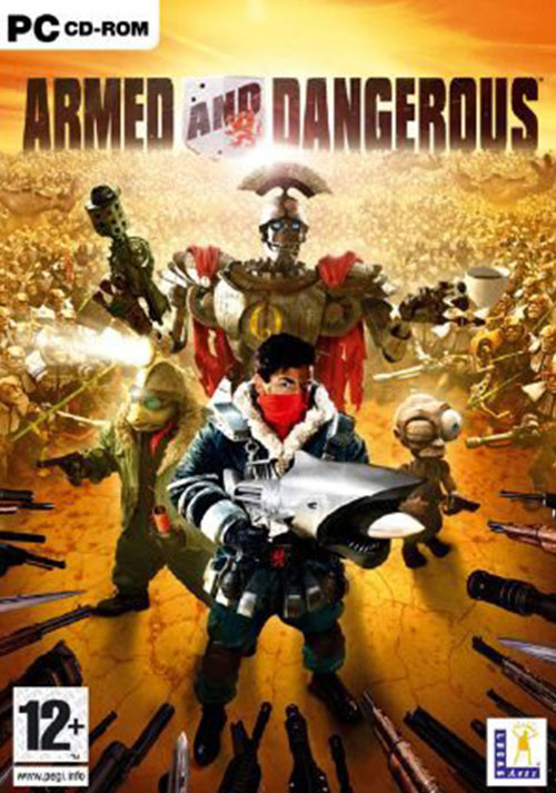 Armed and Dangerous - Cover / Packshot