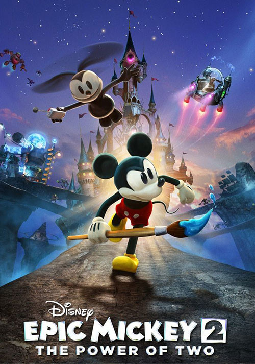 Disney Epic Mickey 2: The Power of Two - Cover / Packshot