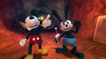 Screenshot1 - Disney Epic Mickey 2: The Power of Two