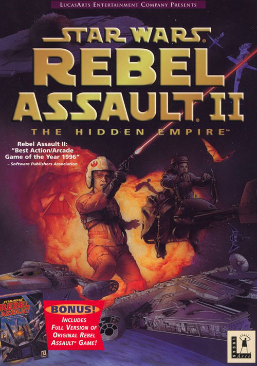 STAR WARS™: Rebel Assault I + II - Cover